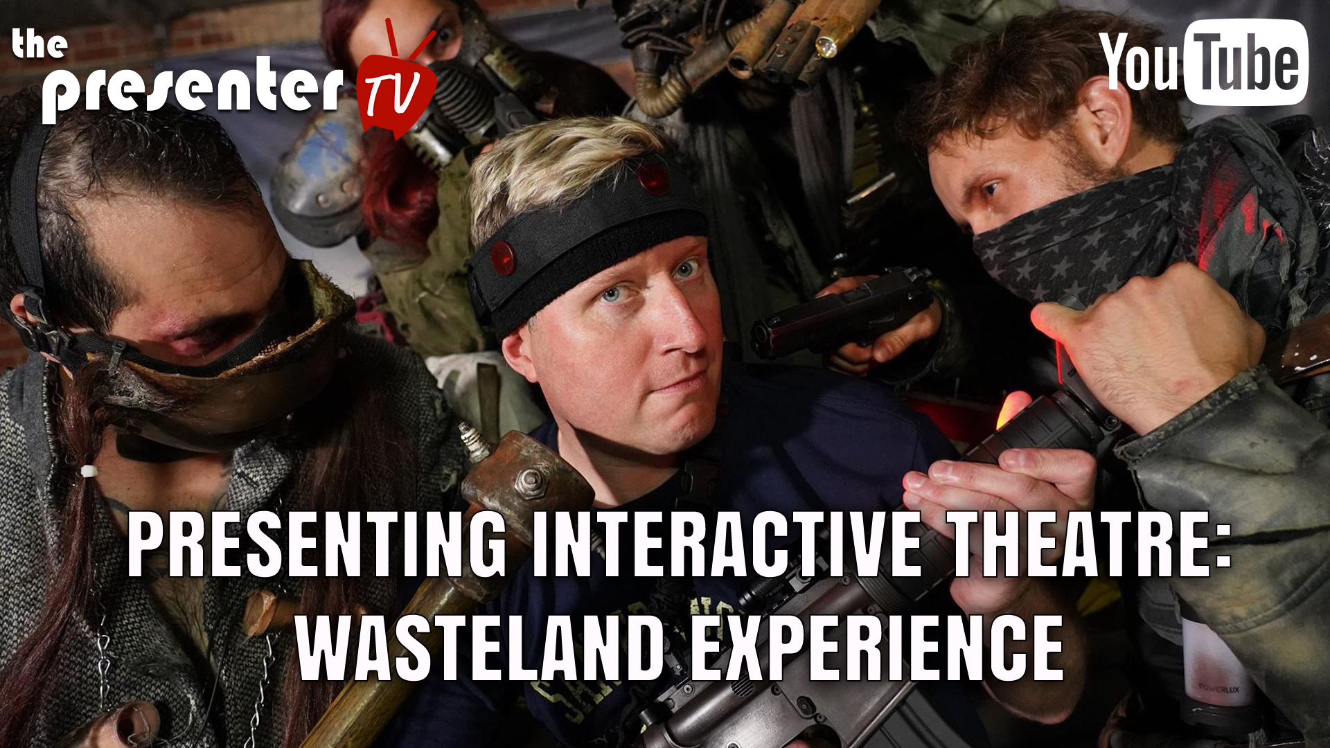 Presenting Interactive Theatre:  Wasteland Experience
